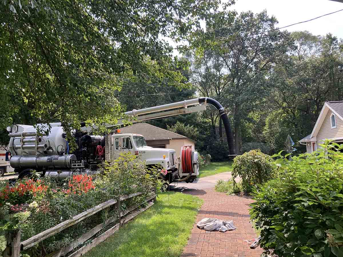 Muskegon Hydro Excavating Septic System